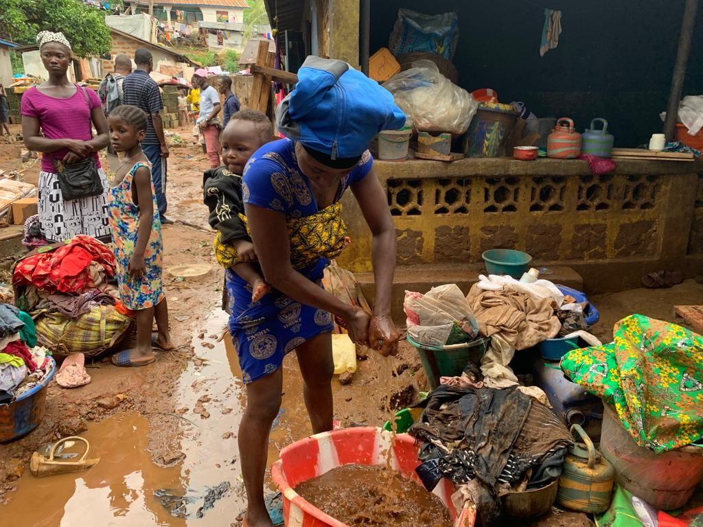 Rain wreaks more havoc in Sierra Leone