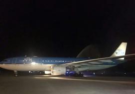 KLM maiden flight to Sierra Leone after 20 years
