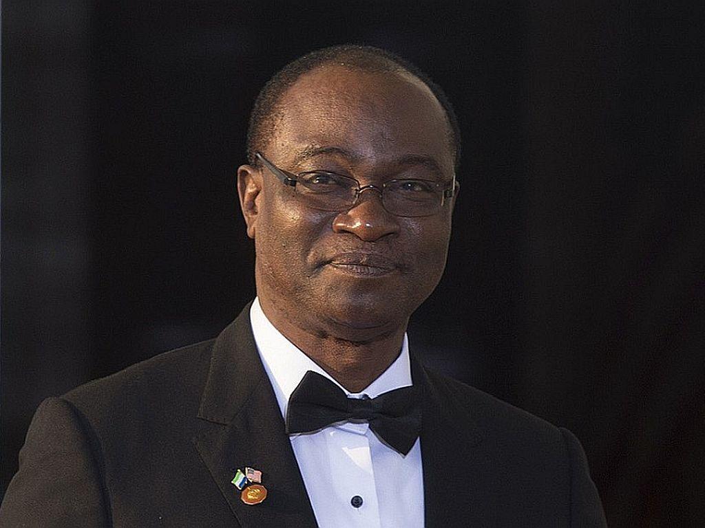 Dr Samoura Kamara, Sierra Leone foreign minister