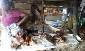 Ramatu, an unhappy fishmonger in Makeni
