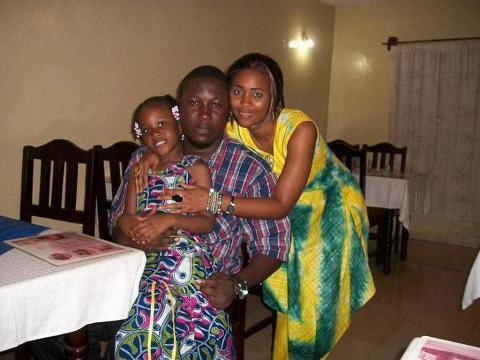 Kao Denero and family